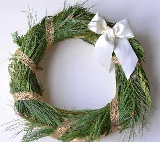 DIY Holiday Wreath- Cover