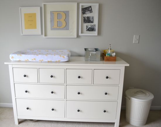 Nursery- Changing Table Wall